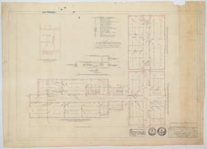 Primary view of object titled 'High School Building Alterations, Munday, Texas: Electrical Plan'.