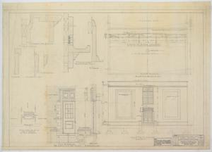 Primary view of object titled 'High School Building Addition, Merkel, Texas: Exterior Details'.