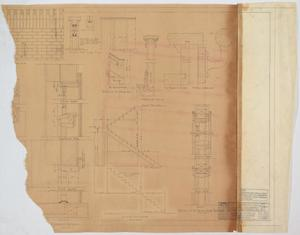 Primary view of object titled 'High School Building Addition, Merkel, Texas: Miscellaneous Details'.
