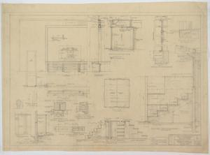 Primary view of object titled 'Mullin High School, Mullin, Texas: Miscellaneous Details'.