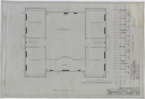 Primary view of object titled 'Elementary School Building Remodel, Merkel, Texas: Second Floor Plan'.