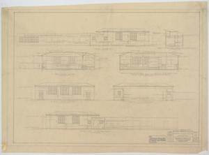 Primary view of object titled 'School Building Addition, Mentone, Texas: Elevations and Sections'.