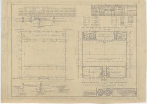 Primary view of object titled 'School Auditorium/Gymnasium, Loraine, Texas: Plans and Schedules'.