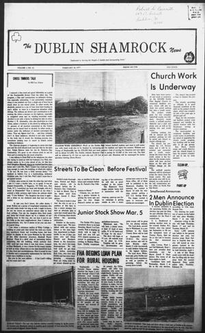 Primary view of The Dublin Shamrock News (Dublin, Tex.), Vol. 1, No. 32, Ed. 1 Thursday, February 24, 1977
