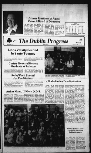 Primary view of object titled 'The Dublin Progress (Dublin, Tex.), Vol. 94, No. 19, Ed. 1 Wednesday, December 23, 1981'.