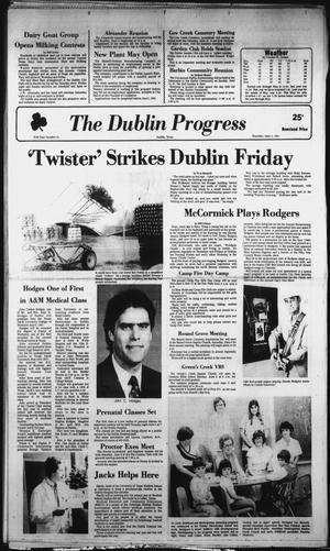 Primary view of object titled 'The Dublin Progress (Dublin, Tex.), Vol. 93, No. 44, Ed. 1 Thursday, June 4, 1981'.
