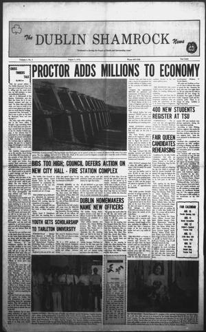 Primary view of The Dublin Shamrock News (Dublin, Tex.), Vol. 1, No. 3, Ed. 1 Thursday, August 5, 1976