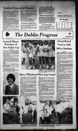 Primary view of object titled 'The Dublin Progress (Dublin, Tex.), Vol. 93, No. 46, Ed. 1 Thursday, June 18, 1981'.