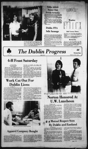 Primary view of The Dublin Progress (Dublin, Tex.), Vol. 94, No. 9, Ed. 1 Wednesday, October 7, 1981