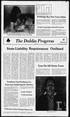 Primary view of The Dublin Progress (Dublin, Tex.), Vol. 94, No. 21, Ed. 1 Wednesday, January 6, 1982