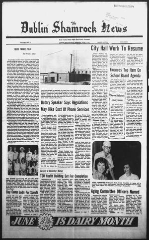 Primary view of The Dublin Shamrock News (Dublin, Tex.), Vol. 1, No. 47, Ed. 1 Sunday, June 5, 1977