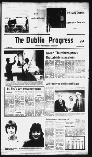 Primary view of object titled 'The Dublin Progress (Dublin, Tex.), Vol. 96, No. 37, Ed. 1 Wednesday, February 8, 1984'.