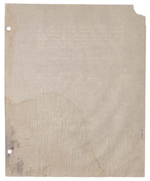 Primary view of object titled '[Plat of Joe M. Totten's Subdivision and the Steffens & Lowden Subdivision #3]'.