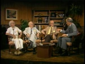 Interview with Dr. Robert Handy, Dr. Albert Outler, and Dr. Sidney Mead, 1985