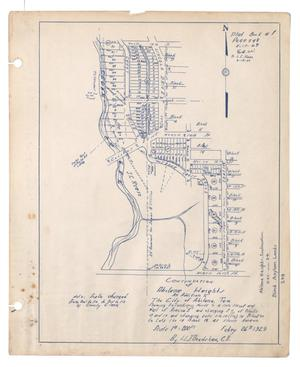 Primary view of object titled 'Continuation of Abilene Heights: An Addition to the City of Abilene, Texas'.