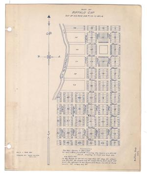 Primary view of object titled 'Map of Buffalo Gap: out of A. M. Boyd Survey Number 112 in Section 16 [Copy]'.