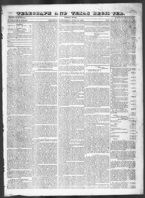 Primary view of Telegraph and Texas Register (Houston, Tex.), Vol. 9, No. 28, Ed. 1, Wednesday, June 26, 1844