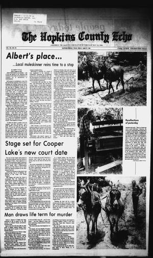 Primary view of object titled 'The Hopkins County Echo (Sulphur Springs, Tex.), Vol. 106, No. 25, Ed. 1 Friday, June 19, 1981'.