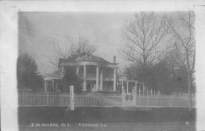 Primary view of object titled '[J.M. Moore Residence in Richmond, Texas]'.