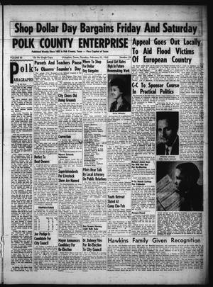 Primary view of object titled 'Polk County Enterprise (Livingston, Tex.), Vol. 80, No. 24, Ed. 1 Thursday, February 22, 1962'.