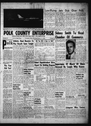 Primary view of object titled 'Polk County Enterprise (Livingston, Tex.), Vol. 80, No. 18, Ed. 1 Thursday, January 11, 1962'.