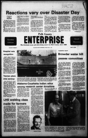 Primary view of object titled 'Polk County Enterprise (Livingston, Tex.), Vol. 95, No. 35, Ed. 1 Sunday, May 1, 1977'.