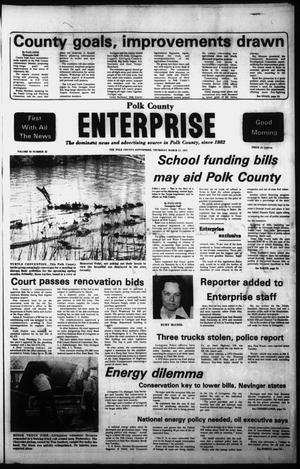 Primary view of object titled 'Polk County Enterprise (Livingston, Tex.), Vol. 95, No. 22, Ed. 1 Thursday, March 17, 1977'.