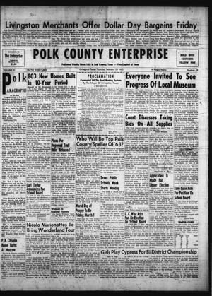 Primary view of object titled 'Polk County Enterprise (Livingston, Tex.), Vol. 81, No. 25, Ed. 1 Thursday, February 28, 1963'.