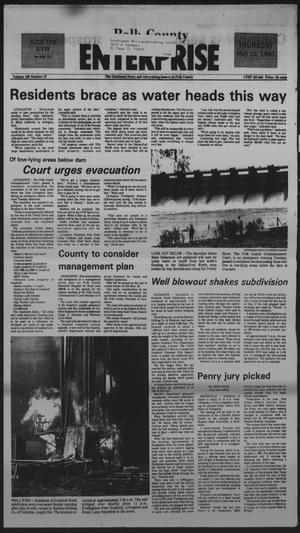 Primary view of object titled 'Polk County Enterprise (Livingston, Tex.), Vol. 108, No. 37, Ed. 1 Thursday, May 10, 1990'.