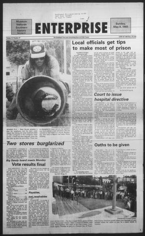 Primary view of object titled 'Polk County Enterprise (Livingston, Tex.), Vol. 111, No. 37, Ed. 1 Sunday, May 9, 1993'.