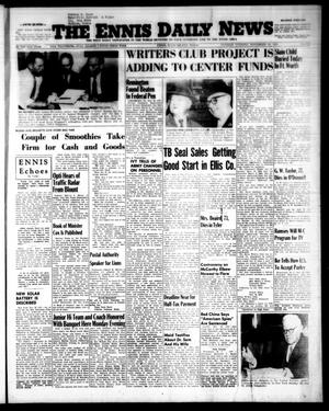 Primary view of object titled 'The Ennis Daily News (Ennis, Tex.), Vol. 63, No. [277], Ed. 1 Tuesday, November 23, 1954'.