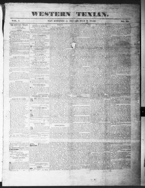 The Western Texan (San Antonio, Tex.), Vol. 1, No. 29, Ed. 1, Thursday, May 3, 1849