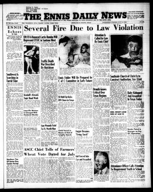 Primary view of object titled 'The Ennis Daily News (Ennis, Tex.), Vol. 63, No. 164, Ed. 1 Wednesday, July 14, 1954'.
