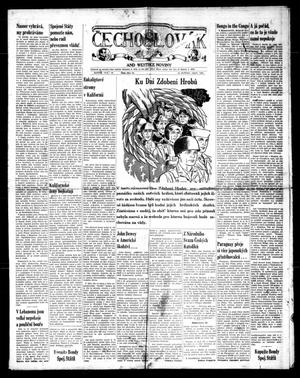 Primary view of object titled 'Čechoslovák and Westske Noviny (West, Tex.), Vol. 39, No. 21, Ed. 1 Friday, May 23, 1958'.