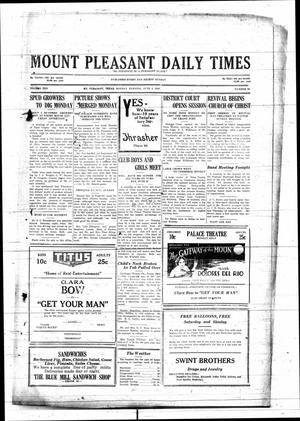 Primary view of object titled 'Mount Pleasant Daily Times (Mount Pleasant, Tex.), Vol. 10, No. 94, Ed. 1 Monday, June 4, 1928'.