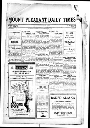 Primary view of object titled 'Mount Pleasant Daily Times (Mount Pleasant, Tex.), Vol. 10, No. 78, Ed. 1 Saturday, June 8, 1929'.