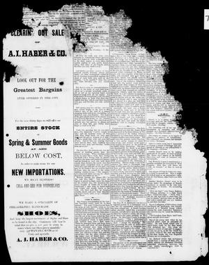 The Austin Evening News (Austin, Tex.), Vol. 1, No. 37, Ed. 1, Tuesday, June 22, 1875