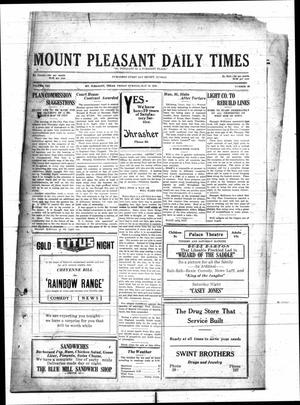 Primary view of object titled 'Mount Pleasant Daily Times (Mount Pleasant, Tex.), Vol. 10, No. 80, Ed. 1 Friday, May 18, 1928'.