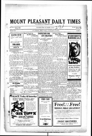 Primary view of object titled 'Mount Pleasant Daily Times (Mount Pleasant, Tex.), Vol. 10, No. 13, Ed. 1 Friday, March 22, 1929'.