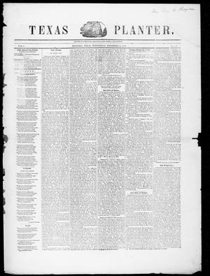 Texas Planter (Brazoria, Tex.), Vol. 2, No. 24, Ed. 1, Wednesday, December 14, 1853