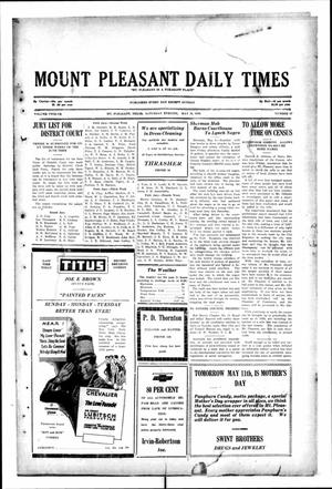 Primary view of object titled 'Mount Pleasant Daily Times (Mount Pleasant, Tex.), Vol. 12, No. 47, Ed. 1 Saturday, May 10, 1930'.