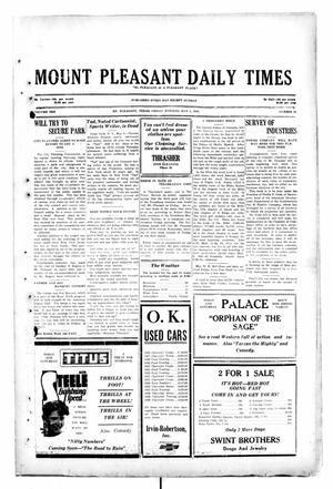 Primary view of object titled 'Mount Pleasant Daily Times (Mount Pleasant, Tex.), Vol. 10, No. 48, Ed. 1 Friday, May 3, 1929'.