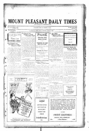Primary view of object titled 'Mount Pleasant Daily Times (Mount Pleasant, Tex.), Vol. 11, No. 206, Ed. 1 Friday, March 14, 1930'.