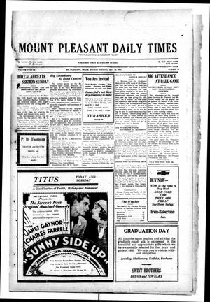 Primary view of object titled 'Mount Pleasant Daily Times (Mount Pleasant, Tex.), Vol. 12, No. 60, Ed. 1 Monday, May 26, 1930'.