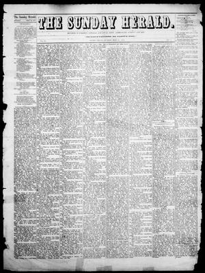Primary view of object titled 'The Sunday Herald (Austin, Tex.), Vol. 1, No. 1, Ed. 1, Sunday, May 21, 1876'.