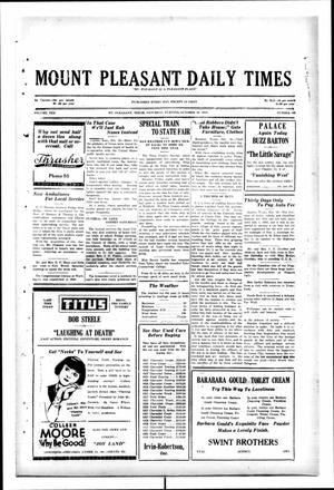 Primary view of object titled 'Mount Pleasant Daily Times (Mount Pleasant, Tex.), Vol. 10, No. 190, Ed. 1 Saturday, October 19, 1929'.