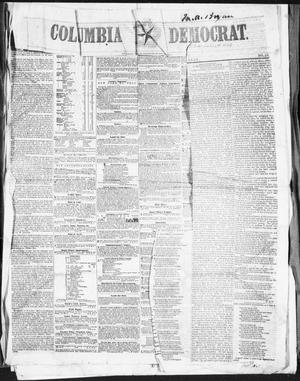 Columbia Democrat (Columbia, Tex.), Vol. 1, No. 42, Ed. 1, Tuesday, November 8, 1853