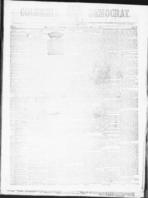Columbia Democrat (Columbia, Tex.), Vol. 2, No. 52, Ed. 1, Tuesday, February 6, 1855