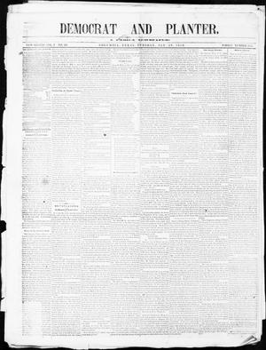 The Democrat and Planter (Columbia, Tex.), Vol. 1, No. 26, Ed. 1, Tuesday, January 29, 1856