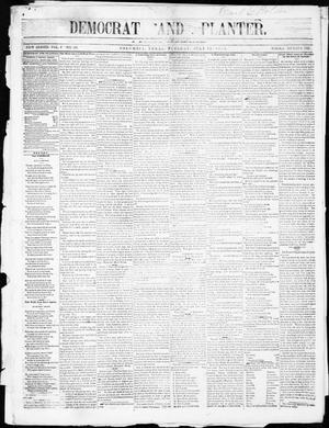 The Democrat and Planter (Columbia, Tex.), Vol. 1, No. 50, Ed. 1, Tuesday, July 15, 1856
